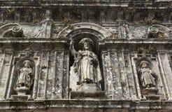 Skulptur des Apostels Santiago stockfotografie