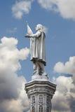 Skulptur des Christopher-Doppelpunktes Lizenzfreie Stockfotografie