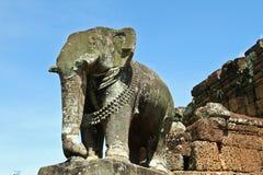 Skulptur des Elefanten Stockfoto