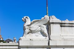 Skulptur des Heiligen Mary Major Basilica - Rom Lizenzfreie Stockfotografie