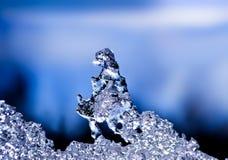 Skulptur des natürlichen Eises Stockbilder