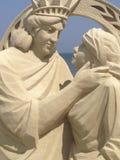 Skulptur des Sandes IMG_6431iPH5 Lizenzfreie Stockfotos