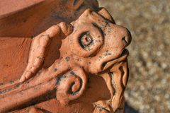 Skulptur-Detail Stockbild