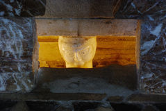Skulptur, Dom zu Gurk, Carinthia Stock Fotografie