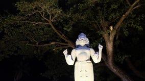 Skulptur einer hindischen Gottheit lizenzfreie stockfotografie