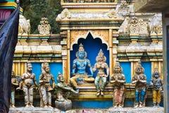 Skulptur eines hindischen Tempels Lizenzfreie Stockbilder