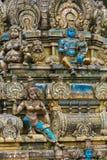 Skulptur eines hindischen Tempels Lizenzfreie Stockfotografie