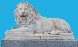 Skulptur eines Löwes Stockfotografie