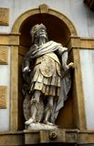 skulptur för armourybuyttersida Royaltyfria Bilder