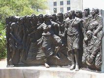 Skulptur för arv för New Orleans Kongoflodenfyrkant royaltyfri foto
