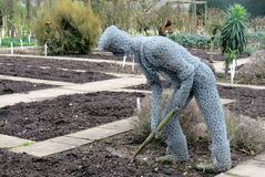 Skulptur för feg tråd Royaltyfri Bild
