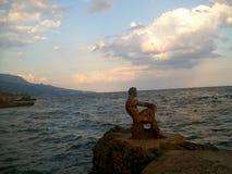 Skulptur in Foros, Krim lizenzfreie stockbilder