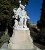 Skulptur fragonard lizenzfreies stockbild