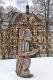 Skulptur-Garten im Heiligen Blaise Lizenzfreies Stockbild