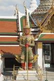 Skulptur i Bangkok Arkivbilder