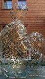 Skulptur i Cremona Italien Arkivbild