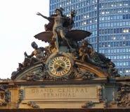 Skulptur i New York Arkivfoton
