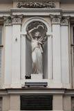 Skulptur i nischen Royaltyfri Fotografi