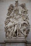 Skulptur i paris Royaltyfri Foto
