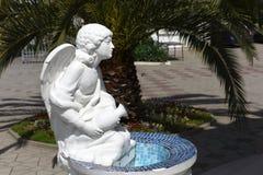 Skulptur i parkera Fotografering för Bildbyråer