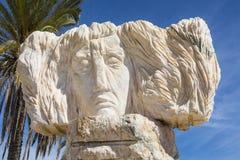 Skulptur i Portimao royaltyfria foton