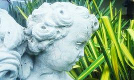 Skulptur i trädgården Royaltyfri Foto