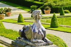 Skulptur im Blenheim Palast. Großbritannien Stockfotografie