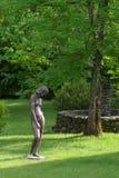 Skulptur im Garten Stockfotos