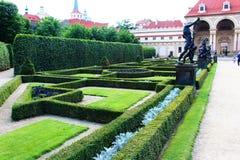 Skulptur im Garten Stockfoto
