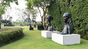 Skulptur im Park Lizenzfreie Stockbilder