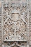Skulptur im Stein Stockbild