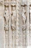 Skulptur im Stein Lizenzfreies Stockbild
