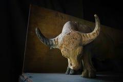 Skulptur leraskulptur, statyer Royaltyfria Foton