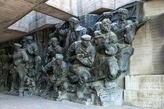 Skulptur, Nationalmuseum der Geschichte der große patriotische Krieg Lizenzfreies Stockfoto