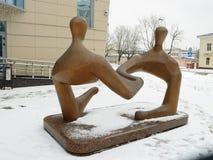 Skulptur på ett kommersiellt tema Fotografering för Bildbyråer