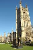 Skulptur på Westminster gräsplan Royaltyfri Bild
