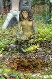 Skulptur in Parikkala-Skulpturenpark, Finnland Lizenzfreie Stockbilder