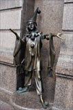 Skulptur Pierrot Arkivbild