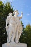 Skulptur an Schonbrunn-Palast Wien Österreich Stockbilder