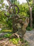 Skulptur Thailand Arkivfoto