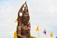 Skulptur Thailand Arkivbild