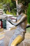 Skulptur u. x22; Maestro& x22; auf der Promenade Gelendzhik Stockbild