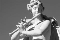 Skulptur vom Wien-Palast Stockbild
