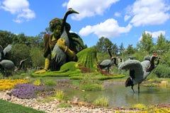 Skulptur von Blumen Lizenzfreie Stockfotografie