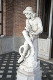 Skulptur von Christopher Columbus Lizenzfreies Stockfoto