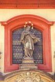Skulptur von Johannes von Nepomuk 2 Stockfotos