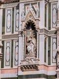 Skulptur von Papst Eugenius IV Stockfoto