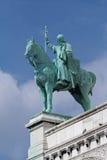 Skulptur von Sacre Coeur Stockfotografie