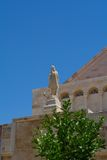 Skulptur von St. Catherine Stockbild