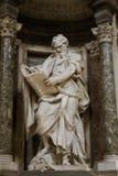 Skulptur von St Matthew stockbild